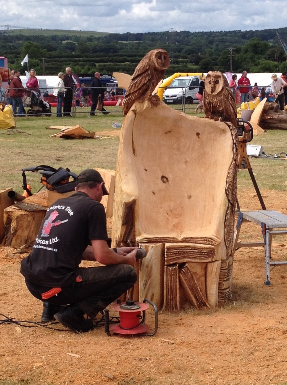 David s day out kent region of the british woodcarvers